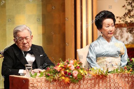 Prince Hitachi and Princess Hanako