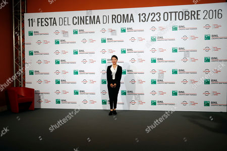 Mira Nishikawa Director Miwa Nishikawa poses for photographers during a photocall for the movie ' Nagai Iiwake ' (The Long Excuse), at the Rome Film festival, in Rome