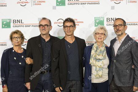 Francesco Patierno, Francesca Barra, Davide Azzolini. Maureen Lewis, Julien Evans