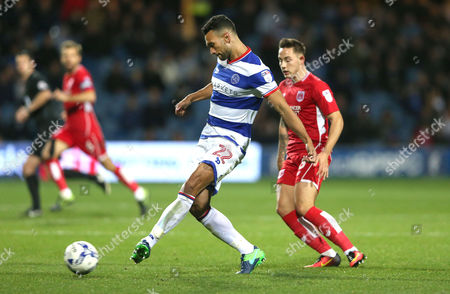 Steven Caulker of QPR during the Sky Bet Championship match between Queens Park Rangers and Bristol City played at Loftus Road, London on 18th October 2016