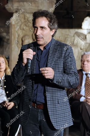Editorial picture of 'Nero' Musical press conference, Rome, Italy - 18 Oct 2016