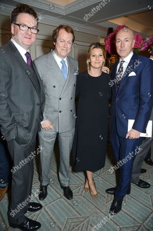 Ewan Venters, Tom Parker Bowles, Sara Buys and Dylan Jones