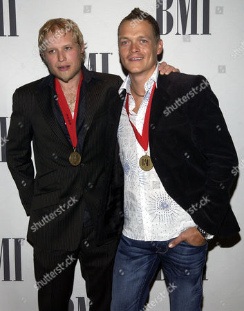 Stock Picture of ARNOLD ROBERTS Doors Down members, Matt Roberts, left, and Brad Arnold arrive at the BMI Pop Music Awards in Beverly Hills, Calif. says on its website that founding member and guitarist Matt Roberts has left the rock band because of health problems. The statement, says Roberts has problems with blood circulation and other health issues. It calls the split amicable. Roberts grew up with bassist Todd Harrell and lead singer Brad Arnold in Mississippi. Together they formed the band in Escatawpa, Miss., in 1996