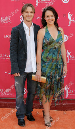 Josh Kear Josh Kear and wife Carly Goodwin arrive at the 42nd Annual Academy of Country Music Awards, in Las Vegas