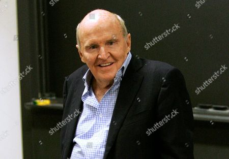 Jack Welch Former General Electric CEO Jack Welch teaching at the Massachusetts Institute of Technology, in Cambridge, Mass. The former General Electric CEO and his wife, Suzy Welch, have a deal with Harper Business for a book to come out in May 2014. The publisher, an imprint of HarperCollins, told The Associated Press, that the currently untitled book will offer strategies to help business leaders keep focused and keep ahead in a radically transforming economy