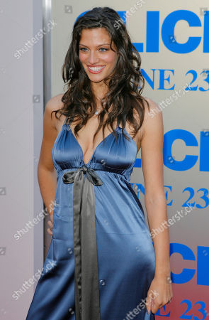 """Michelle Lombardo Actress Michelle Lombardo arrives for the premiere of the movie """"Click"""" in Los Angeles"""