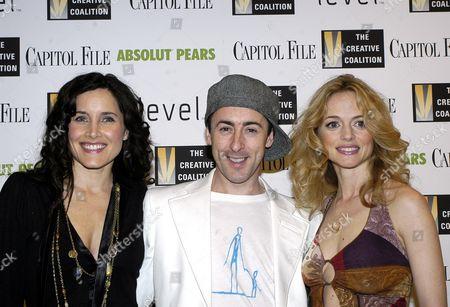 Rachel Shelley, Alan Cumming and Heather Graham
