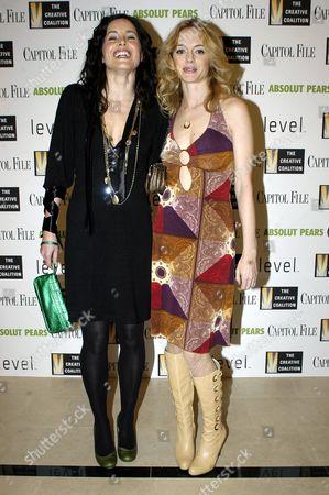 Rachel Shelley and Heather Graham