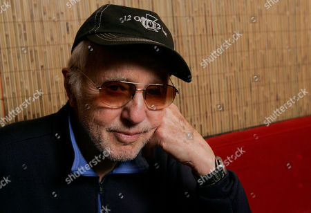 """Haskell Wexler, director of the documentary """"Who Needs Sleep?,"""" poses during an interview at the Sundance Film Festival in Park City, Utah"""