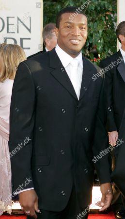 Roger R. Cross Roger R. Cross arrives for the 64th Annual Golden Globe Awards, in Beverly Hills, Calif