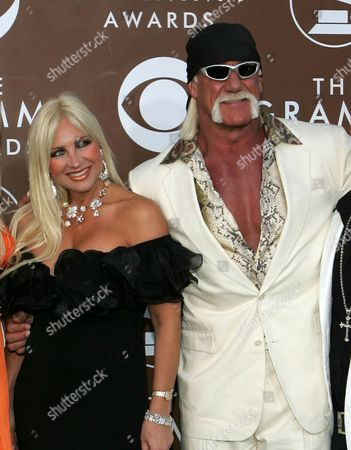 Stock Image of Hulk Hogan, Linda Bollea Hulk Hogan and his wife Linda arrive at the 48th annual Grammy Awards, in Los Angeles. Court records show a financial settlement has been agreed upon between wrestler Terry Bollea, better known as Hulk Hogan, and his ex-wife Linda. The St. Petersburg Times reports Linda Bollea received a little more than 70 percent of the couple's liquid assets in their divorce settlement