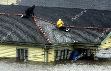 Editorial photo of HURRICANE KATRINA, NEW ORLEANS, USA