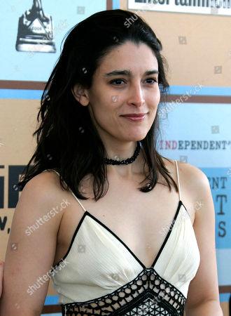 Rachel Boynton Director Rachel Boynton arrives at the Independent Spirit Awards, in Santa Monica, Calif