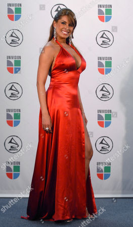 Galilea Montijo Actress Galilea Montijo is seen backstage at the Latin Grammy Awards in New York