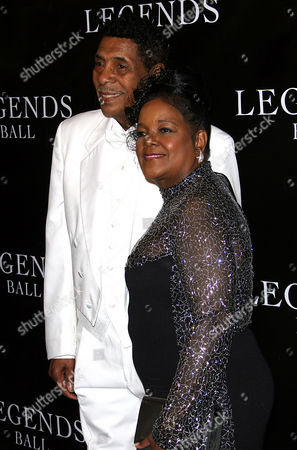 LEGENDS BALL CAESAR Singer Shirley Caesar and her husband Bishop Harold Williams arrive at the Legends Ball, an award ceremony hosted by Oprah Winfrey honoring Caesar and 18 other women who paved the way in arts, entertainment and civil rights, in Santa Barbara, Calif