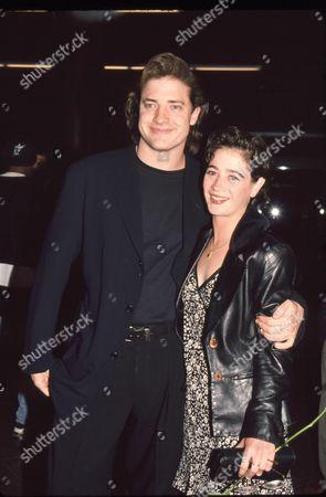 Stock Photo of Brendan Fraser and Moira Kelly
