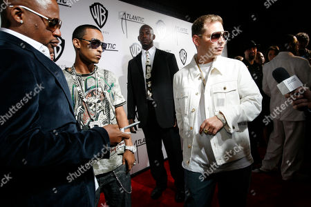 SCOTT STORCH Music producer Scott Storch arrives to a party hosted by Atlantic and Warner Bros. Records after the MTV Video Music Awards, in New York