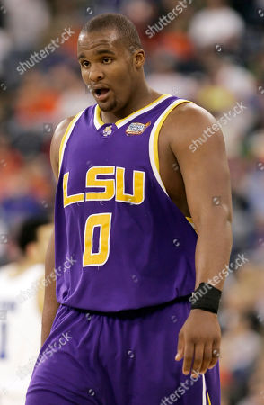Glen Davis LSU's Glen Davis appears during their Final Four semifinal basketball game against UCLA in Indianapolis