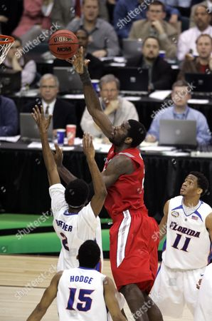 Greg Oden Ohio State's Greg Oden shoots against Florida during the Final Four basketball championship game at the Georgia Dome in Atlanta