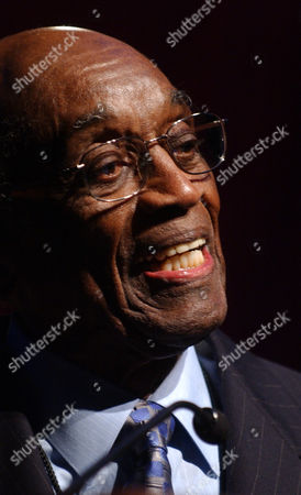 Jazz legend John Levy receives a National Endowment for the Arts Jazz Masters Award at the NEA Jazz Masters Awards Concert in New York. Levy, the first prominent African-American personal manager in the jazz or pop music field, whose clients included Nancy Wilson and Ramsey Lewis, died at age 99