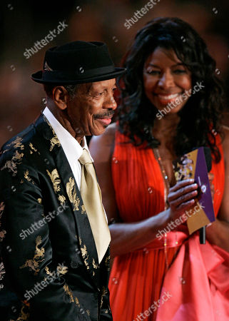 "Natalie Cole, Ornette Coleman Natalie Cole and Ornette Coleman present the award for best new artist during the 49th Annual Grammy Awards, in Los Angeles. Coleman, the visionary saxophonist who pioneered ""free jazz"" and won a Pulitzer Prize in 2007, died, on Thursday, June 11, 2015 in New York. He was 85"