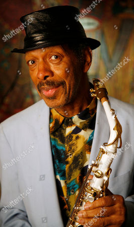 "Ornette Coleman Pulitzer Prize-winning jazz artist Ornette Coleman poses in his New York apartment. Coleman, the visionary saxophonist who pioneered ""free jazz"" and won a Pulitzer Prize in 2007, died, on in New York. He was 85"