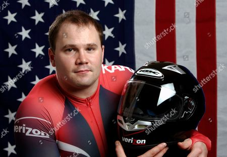 STEVE HOLCOMB US Olympic bobsled athlete Steve Holcomb is shown in this photo in Colorado Springs, Colo