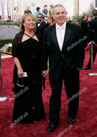 """Bobby Moresco Bobby Moresco, nominated for original screenplay for his work in """"Crash,"""" arrives with guest for the 78th Academy Awards, in Los Angeles"""