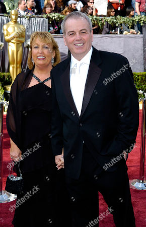Bobby Moresco, Barbara Bobby Moresco and wife Barbara arrive for the 78th Academy Awards, in Los Angeles