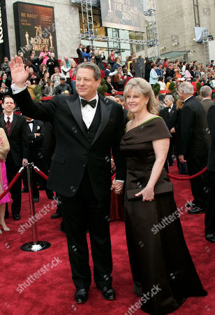 Al Gore, Tipper Gore Al and Tipper Gore arrive for the 79th Academy Awards, in Los Angeles