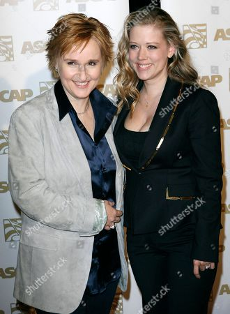 Melissa Etheridge, Tammy Lynn Michaels Singer songwriter Melissa Etheridge, left and Tammy Lynn Michaels arrive at the 24th Annual American Society of Composers, Authors and Publishers Pop Music Awards in Los Angeles