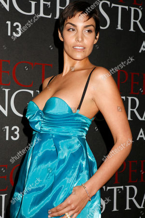 Paula Miranda Actress Paula Miranda arrives to the premiere of her movie 'Perfect Stranger,', in New York. The film stars Halle Berry, Bruce Willis and Giovanni Ribisi and opens in the U.S. on April 13