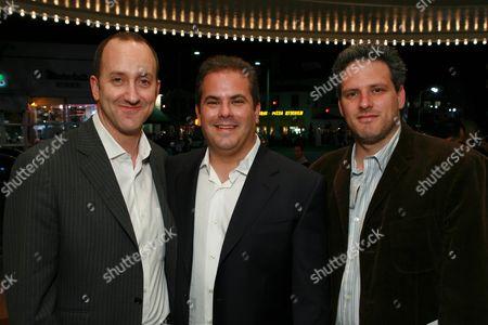 Uni's Jimmy Horowitz, Writer's Adam Mazer and William Rotko