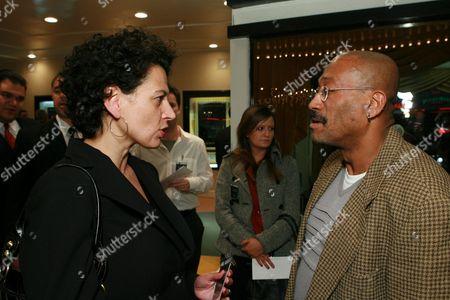 Uni's Donna Langley and Production Designer Wynn Thomas