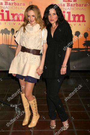 Heather Graham and Rachel Shelley