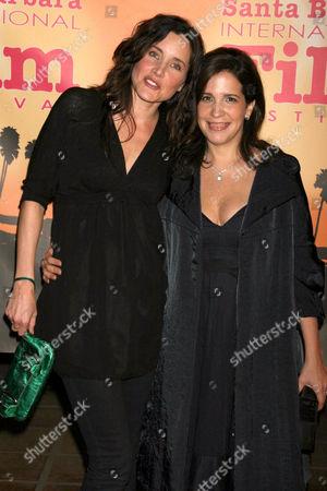Rachel Shelley and Sue Kramer