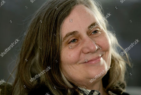 """MARILYNNE ROBINSON Marilynne Robinson, a faculty member in the University of Iowa Writers' Workshop, sits in her home after winning the Pulitzer prize for fiction, in Iowa City, Iowa. Robinson was honored for """"Gilead,"""" a novel about the experiences and thoughts of a small-town Iowa minister"""