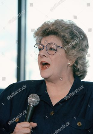 Stock Picture of Singer Rosemary Clooney sings during rehearsal at the Rainbow Room in New York, Feb. 1989