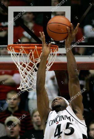 John Williamson Cincinnati forward John Williamson shoots against Rutgers in a basketball game, in Cincinnati