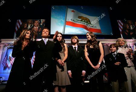 Editorial image of Schwarzenegger Inauguration, Sacramento, USA