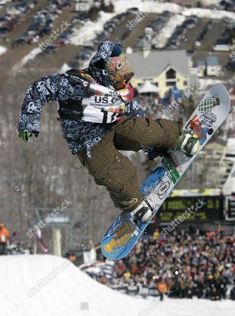 Editorial image of SNOWBOARD CHAMPIONSHIPS, STRATTON, USA