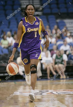 Chamique Holdsclaw Los Angeles Sparks' Chamique Holdsclaw is shown playing against the Minnesota Lynx in a basketball game in Minneapolis. Holdsclaw scored 20 points in the game won by the Sparks, 90-78