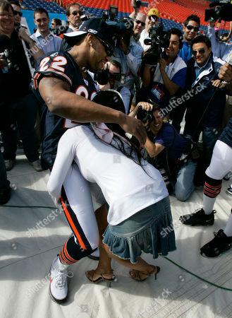 Editorial photo of Super Bowl Media Day Moments, Miami, USA