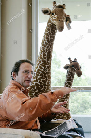 Gerald L. Storch Toys R Us chairman and CEO Gerald L. Storch, former vice chairman of Target Corp., sits near stuffed giraffe toys in his office at the company's headquarters in Wayne, N.J