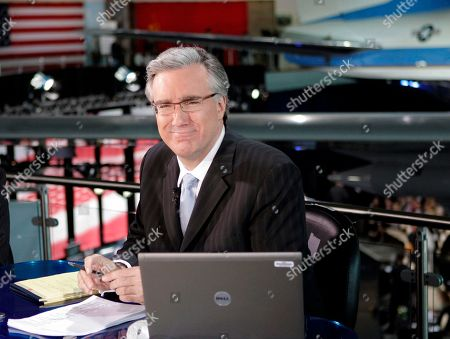 Keith Olbermann Keith Olbermann of MSNBC poses at the Ronald Reagan Library in Simi Valley, Calif