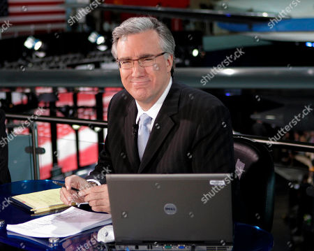 Keith Olbermann Keith Olbermann poses at the Ronald Reagan Library in Simi Valley, Calif. Current TV has dismissed Keith Olbermann from its talk-show lineup after less than a year