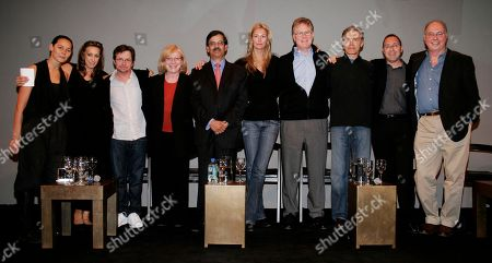 Urban Zen From left to right, Sonja Nuttall and Donna Karan, founders, actor Michael J. Fox, Dr. Susan B. Bressman, Dr. Vijay Anand, Lady Dawn Russell, Dr. Woodson Merrell, Richard Freeman, Dr. Frank Lipman and Dr. James Gordon take part in a panel discussion on new ways of thinking for doctors at Donna Karan's Urban Zen Initiative Day Five. The Urban Zen Initiative is a wellness forum aimed at merging Eastern and Western medicine in order to improve patient care, in New York City