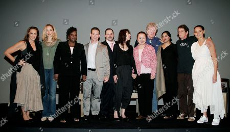 Urban Zen From left to right, Donna Karan, Kris Carr, Patricia Codrington, Steve Cotter, Dr. Eric Schneider, Gabrielle Roth, Dr. Ming Jin, Professor Robert Thurman, Dr. Bhaswati Bhattacharya, Lou Reed and Sonja Nuttall take part in a panel discussion on the practical benefits of Eastern medicine at Donna Karan's Urban Zen Initiative Day Seven. The Urban Zen Initiative is a wellness forum aimed at merging Eastern and Western medicine in order to improve patient care, in New York City