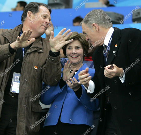 Editorial image of WINTER OLYMPICS FIRST LADY HKO USA SWI TR3, TURIN, Italy