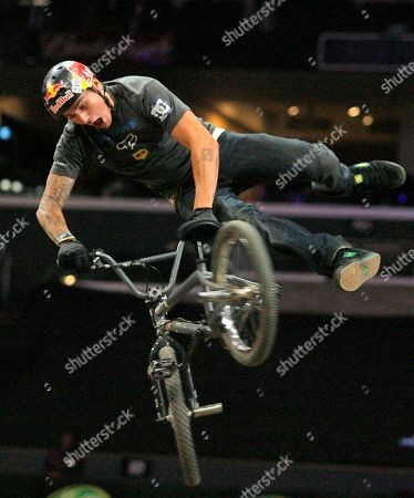 Corey Bohan Corey Bohan catches air as he competes in the BMX Freestyle Dirt finals at the X Games 12 in Los Angeles on . Bohan took first place